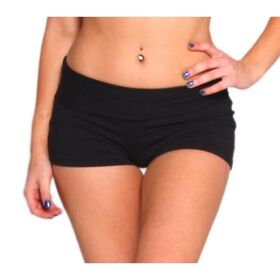 Rhapso Designs Fold Over Womens Shorts