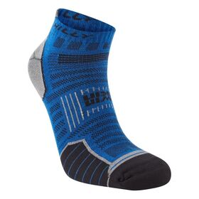 Hilly Twin Skin Socklet - Anti-Blister Running Socks