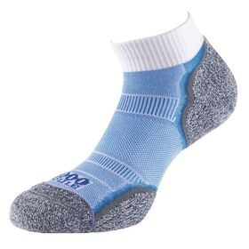 1000 Mile Breeze Anklet Womens Sports Socks - Double Layer, Anti Blister