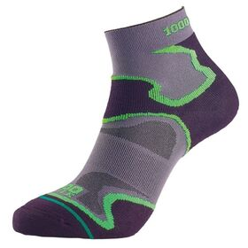 1000 Mile Fusion Anklet Mens Sports Socks - Double Layer, Anti Blister