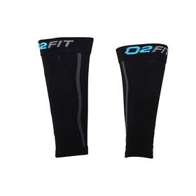 o2fit Unisex Compression Recovery Calf Sleeves