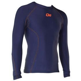 o2fit Mens Compression Long Sleeve Top