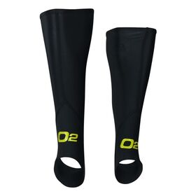 o2fit Unisex Compression Calf Guards with Stirrups