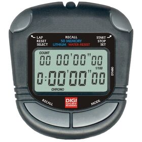 Digi Sports DT480A - 50 Lap Stopwatch