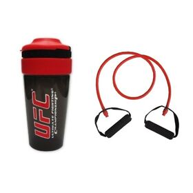 Body Concept Resistance Tube With Free UFC Shaker - Strong