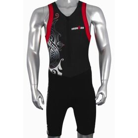 Ironman Mens Tri Suit - Black/Red