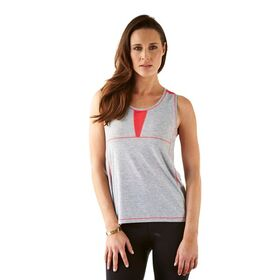 Bayse Running Mesh Splice Womens Tank Top