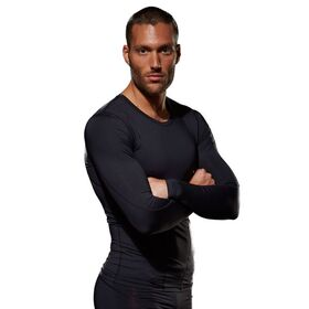 Bayse Compression Mens Long Sleeve Training Top
