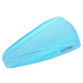 Halo Bandit Air 4 Inch Tapered Sweat Seal Headband - Aqua