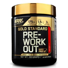 Optimum Nutrition Gold Standard Pre-Workout Formula - 330g - 30 Serves