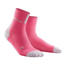 CEP High Cut Running Socks 3.0 - Pink/Grey