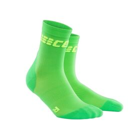 CEP Ultra Light High Cut Running Socks - Green