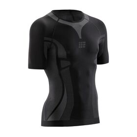 CEP Ultra Light Mens Short Sleeve Running Shirt - Black
