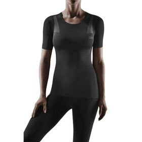 CEP Wingtech Womens Running Compression Shirt - Black