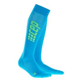 CEP Ultra Light Compression Run Socks - Blue