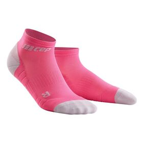 CEP Low Cut Running Socks 3.0 - Pink/Grey