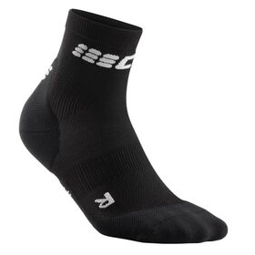 CEP Ultra Light High Cut Running Socks - Black