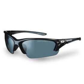 Sunwise Canary Wharf Polarised Sports Sunglasses - Black/Grey