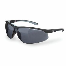 Sunwise Bulldog Safety Impact Sports Sunglasses - Black/Smoke