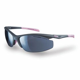 Sunwise Peak Sports Sunglasses - Grey/Pink