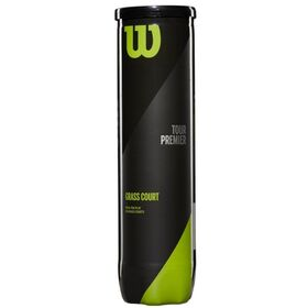 Wilson Tour Premier Grass Court Tennis Balls - Can of 4