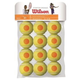 Wilson Starter Game Tennis Balls - 12 Ball Pack