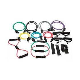 19 Piece Resistance Exercise Bands Set