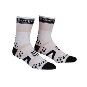 Compressport V2 Cycle Socks - White/Black