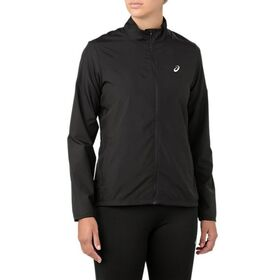 Asics Silver Womens Running Jacket