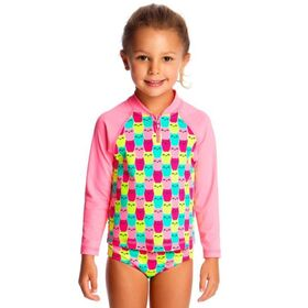 Funkita Toddler Girls Zippy Rash Vest