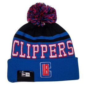 New Era Los Angeles Clippers Knit Pom Basketball Beanie