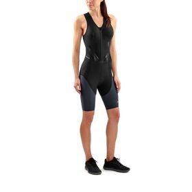 Skins DNAmic Triathlon Womens Compression Suit with Front Zip
