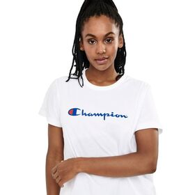 Champion Script Womens Crop T-Shirt