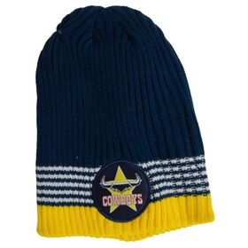Burley Sekem North Queensland Cowboys Flex Supporter NRL Beanie