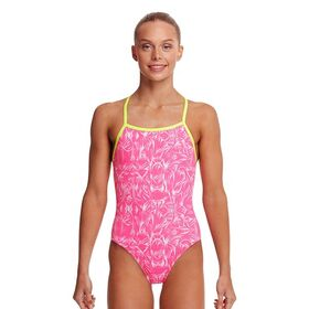 Funkita Strapped In Kids Girls One Piece Swimsuit