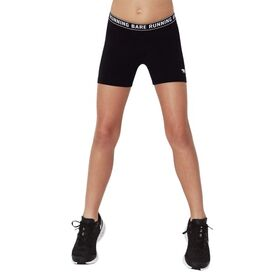 Running Bare Kids Girls Training Short Tights