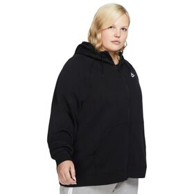 Nike Sportswear Essential Full Zip Womens Hoodie - Plus Size