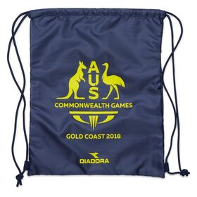 Diadora Commonwealth Games Supporters Drawstring Bag