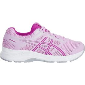 Asics Contend 5 GS - Kids Girls Running Shoes - Astral/Orchid