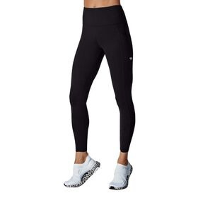 Running Bare Power Moves Ab Waisted Womens Full Length Tights