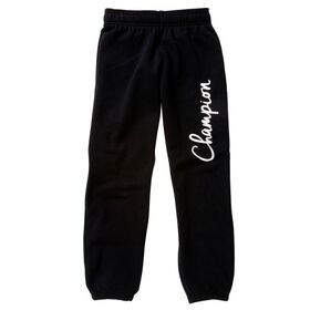 Champion Script Kids Girls Sweatpants