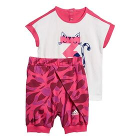 Adidas Infant Girls Training Summer Set