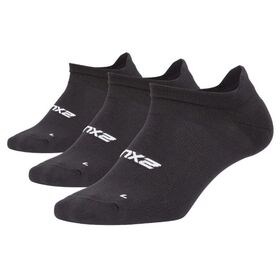2XU Womens 3-Pack Ankle Socks