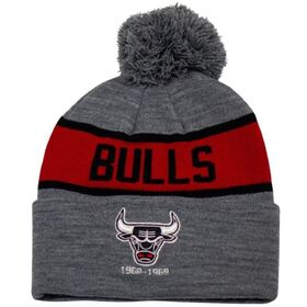 Mitchell & Ness Chicago Bulls Team Tone Knit Basketball Beanie