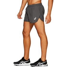 Asics Silver Split Mens Running Shorts