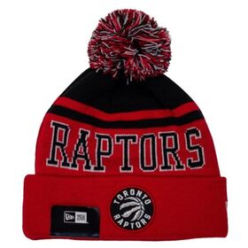 New Era Toronto Raptors Knit Pom Basketball Beanie