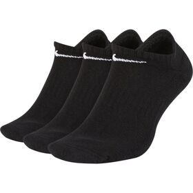Nike Everyday Cushion No Show Training Socks - 3 Pack