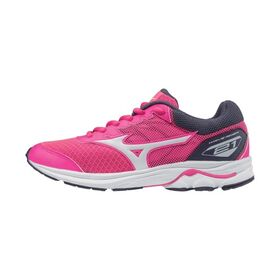 Mizuno Wave Rider 21 - Kids Girls Running Shoes