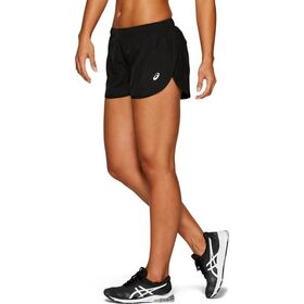 Asics Silver Split Womens Running Shorts