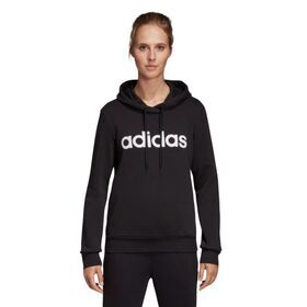 Adidas Essentials Linear Pullover Womens Hoodie